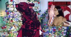 Kardashian christmas decor