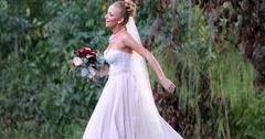 Maci From Teen Mom in a Wedding Dress