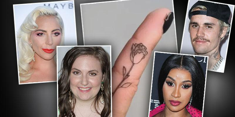 celebrities with Rose Tattoos