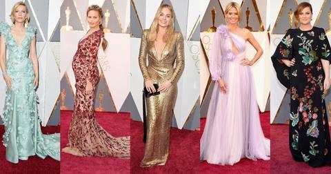 best worse wackiest 2016 oscar dresses