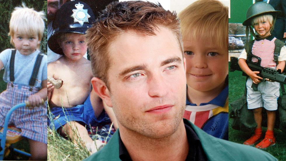 Robert pattinson childhood photos