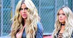 Kim Zolciak and Daughter Brielle Biermann Look like Twins as they step out in NYC with Matching Pouts