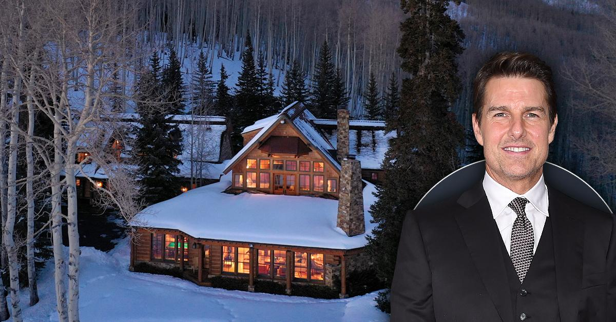 tom cruise lists colorado mountain ranch celeb real estate pf