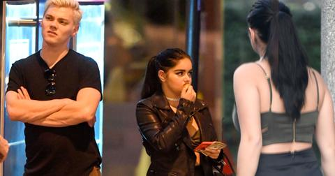 Ariel winter barely there outfit