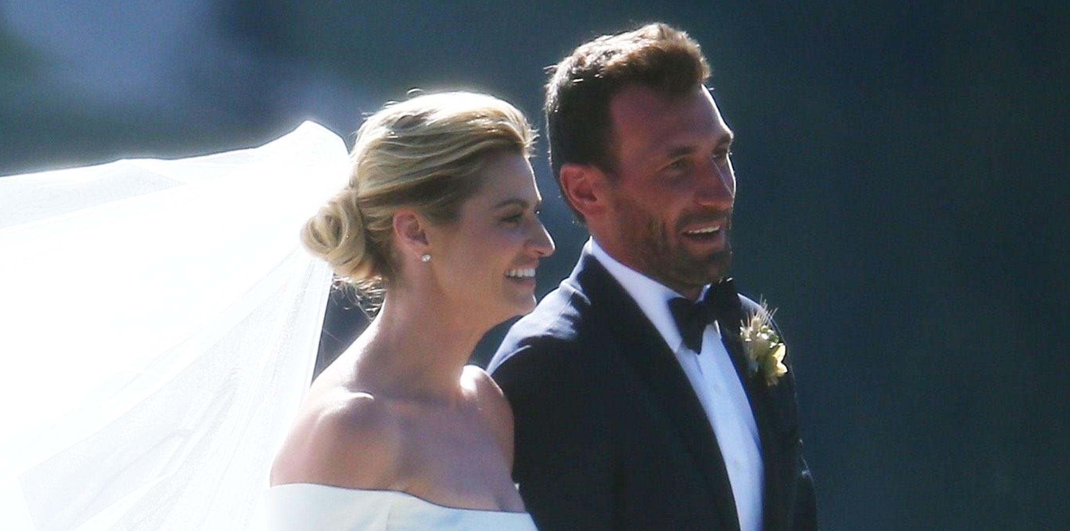 Erin Andrews Wedding Jarret Stoll Photos Long