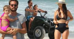 Kourtney kardashian scott disick vacation family