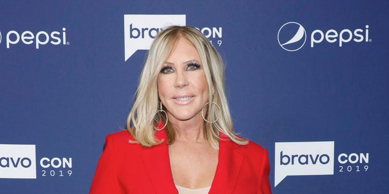 Vicki Gunvalson In Red Suit Promoted 'RHOC'