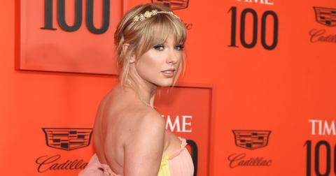 taylor swift time 100 gala red carpet