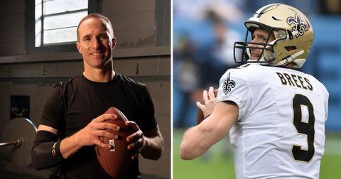 new orleans saints quarterback drew brees signs multi year partnership copper compression pf
