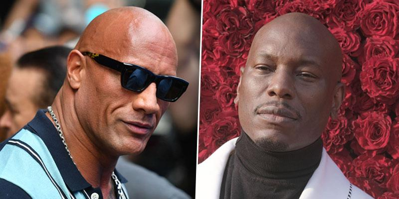 Tyrese Shade Dwayne Johnson PP