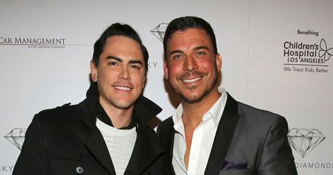 Jax Taylor And Tom Sandoval On Red Carpet