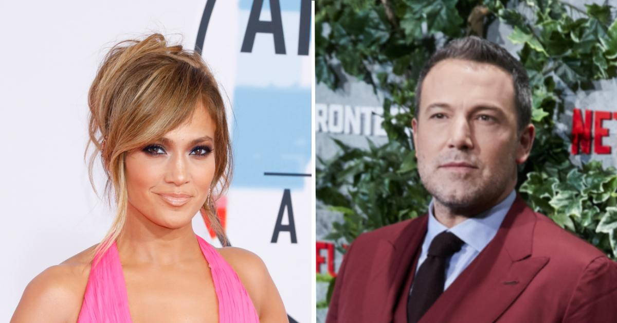 jennifer lopez ben affleck reportedly telling friends theyre together as couple pp