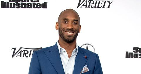 Kobe Bryant On Red Carpet