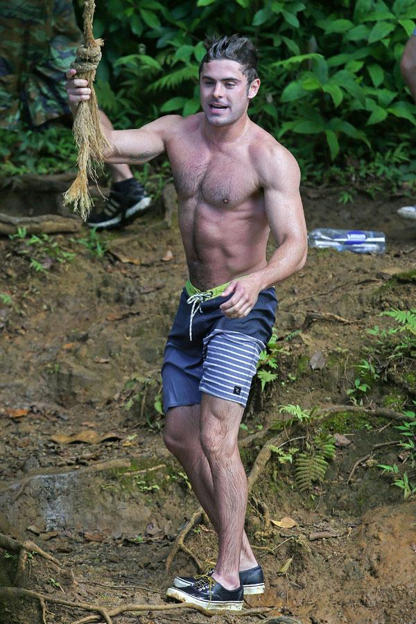 Zac Efron Basically Looks Like The Real Life Tarzan While