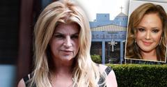Kirstie Alley With Insets Of Scientology Celebrity Center, Leah Remini; Scientology Savior? 5 Times Kirstie Alley Has Defended The Controversial Church