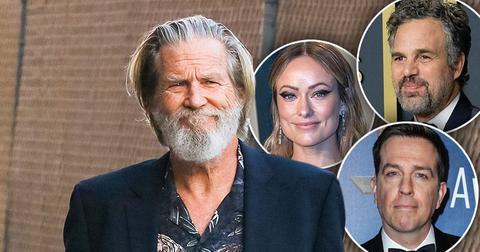 Jeff Bridges Lymphoma Diagnosis Celebs Mark ruffalo, Olivia Wilde and Ed Helms react
