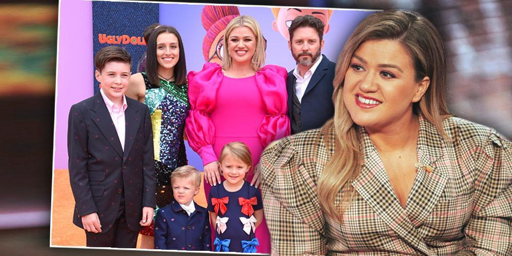 Kelly Clarkson, Inset Of Family, Kelly Clarkson Protecting Brandon Blackstock In Divorce Despite His 'Greedy Money Grab'