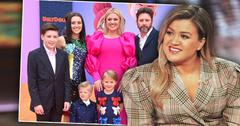 Kelly Clarkson, Inset Of Family, Kelly Clarkson Protecting Brandon Blackstock In Divorce Despite His 'Greedy Money Grab'