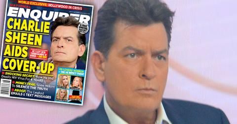 Charlie sheen today show hiv positive aids