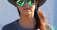 Mirrored sunglasses kourtney kardashian