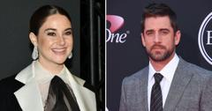 shailene woodley aaron rodgers private low key relationship