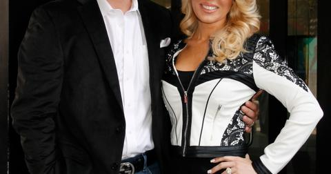 Reality TV stars Gretchen Rossi and Slade Smiley leave the 'Good Day New York' studios