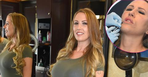 *EXCLUSIVE* Melissa Meeks continues her 'Revenge Makeover' with hair extensions and botox *WEB MUST CALL FOR PRICING*