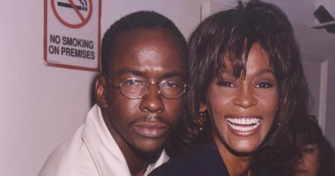 Bobby Brown and Whitney Houston in 2000.