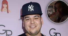 Rob Kardashian Under Fire For Giving Dream A Bottle