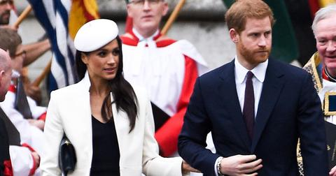 Prince harry meghan markle wedding father not attending thomas
