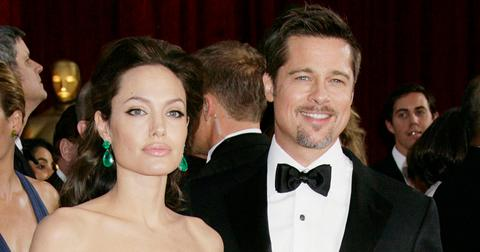 Brad Pitt and Angelina Jolie at the 2009 Oscars