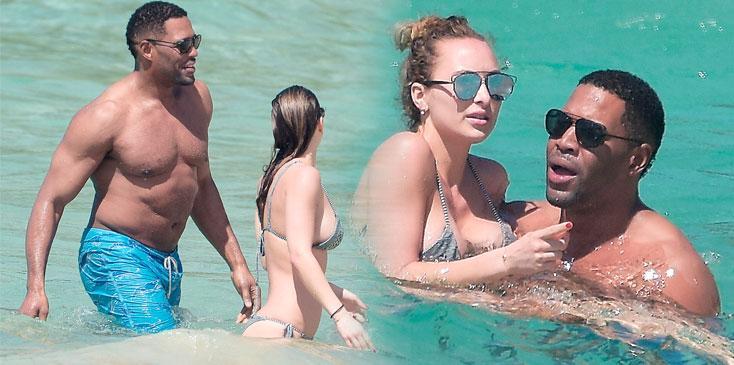 Michael Strahan Shirtless Girlfriend Kayla Bikini Criminal Record