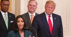 Kim Kardashian and Donald Trump