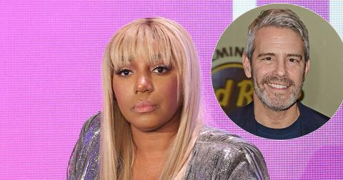 NeNe Leakes On Stage Andy Cohen Inset
