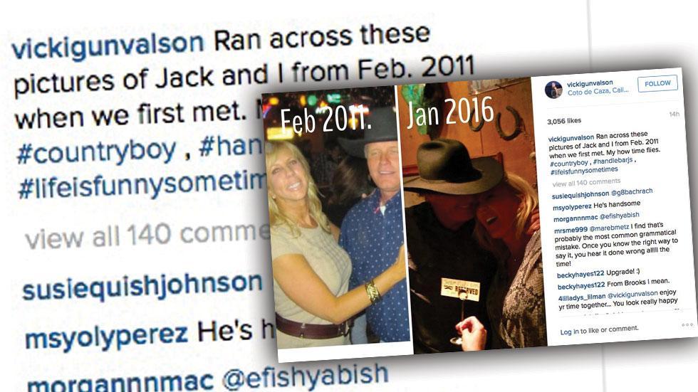 Vicki Gunvalson Cuddles Boyfriend Jack Losey
