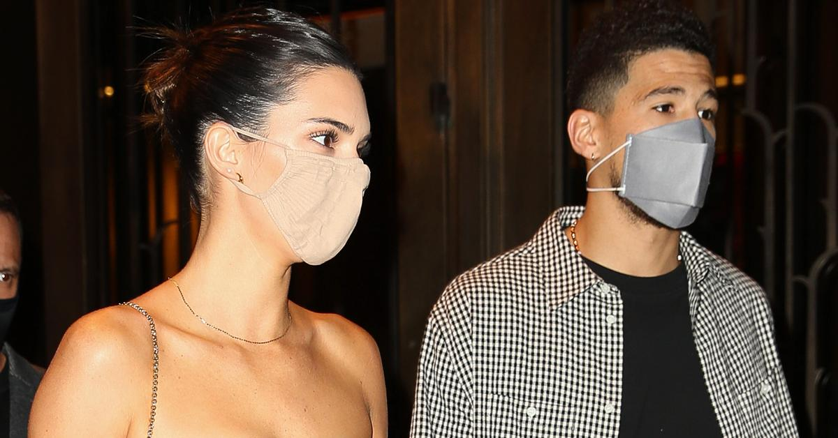 kendall jenner serious very much in love devin booker