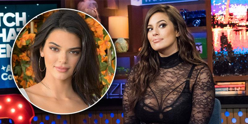 Ashley Graham Shades Kendall Jenner PP