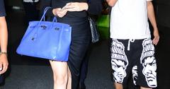 Khloe Kardashian and French Montana sneak a smooch as they fly out of NYC