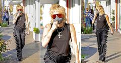 miley cyrus rocks stylish outfit while out in beverly hills okf