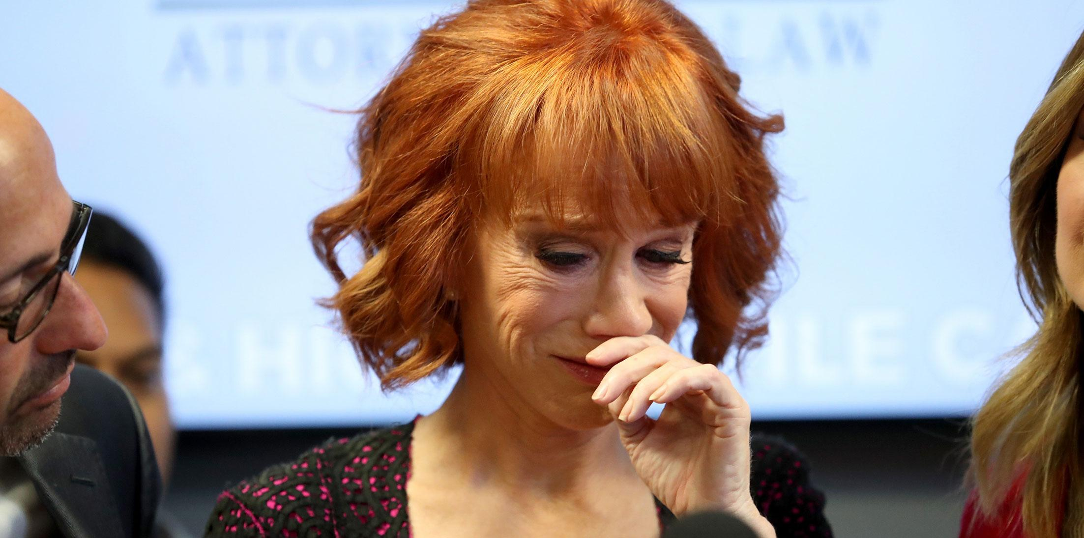 Kathy griffin press conference shocking moments 03