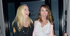 Shannon Beador And Kelly Dodd Leaving Dinner