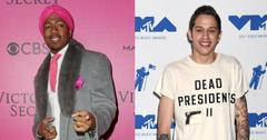 pete davidson called nick cannon before proposing to ariana grande pp