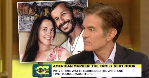 Dr. Oz and Senior Investigative Correspondent, Mara Schiavocampo, Discuss Chris Watts' Motivation Behind The Crime