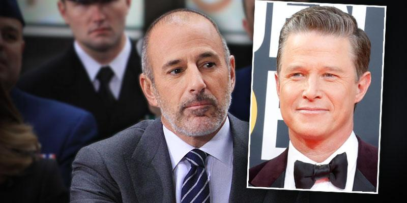 'Today' Host Matt Lauer Never Considered Billy Bush A Friend