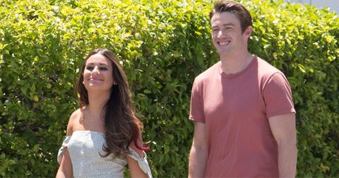 lea michele boyfriend robert buckley