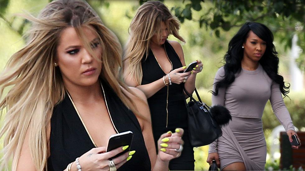 Khloe kardashian looks annoyed girls day