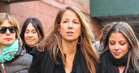 Jill zarin returns to work after husband bobbys death