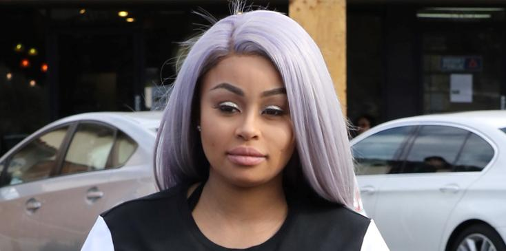 Blac Chyna grabs a healthy meal after welcoming daughter Dream