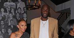 Lamar Odom And Sabrina Parr Hold Hands At Dinner