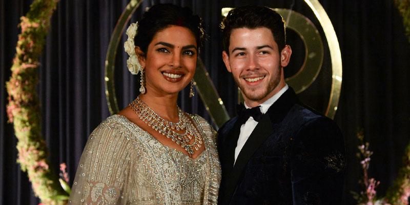 Nick and priyanka wedding post pic